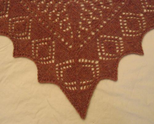 Ene's scarf 2 centre