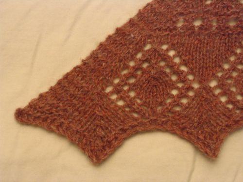 Ene's scarf 2 corner