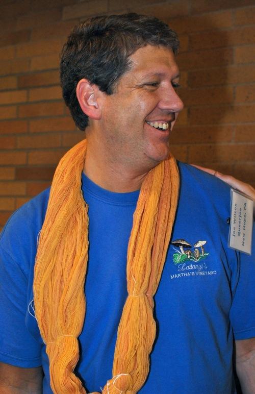 Joe with yarn 1